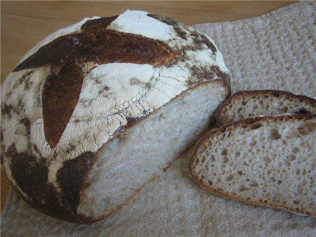 Этот хлеб частый гость у нас на столе.  Я люблю рецепт за простоту и за удобство исполнения. Оригинал рецепта на carina-forum.com ЗДЕСЬ , автор Nadyushka. Рецепт автора,…