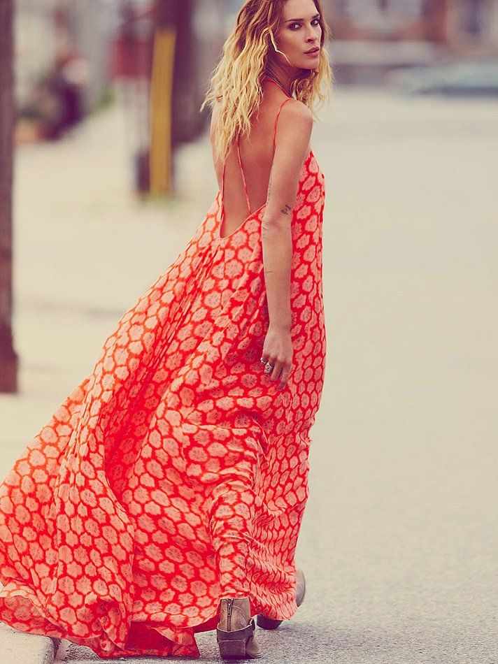 Free People FP ONE Shibori Print Maxi at Free People Clothing Boutique