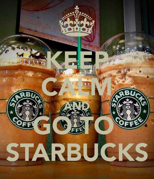 I love me some Starbucks!!