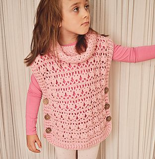 Crochet Poncho... child to adult sizes
