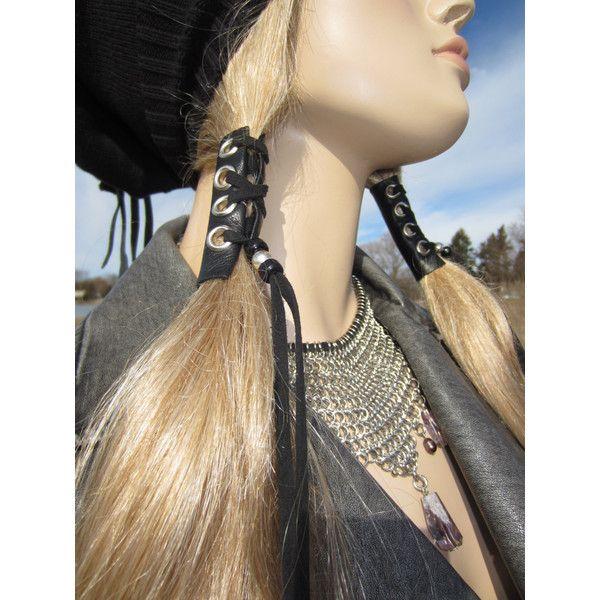 The Best DIY Leather Hair Wrap Ideas On Pinterest DIY - Diy ponytail wrap