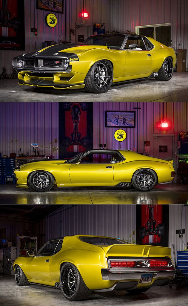 "AMC Javelin ""Defiant"" Boasts 1076HP Supercharged Hellcat Engine Takes Muscle Cars to the Next Level"