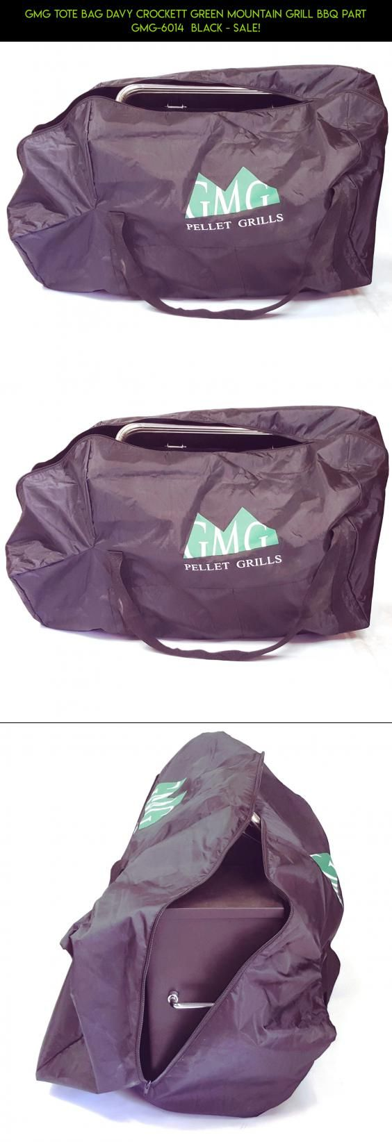 GMG TOTE BAG Davy Crockett Green Mountain Grill BBQ Part GMG-6014  BLACK - SALE! #camera #green #fpv #kit #racing #crockett #drone #technology #parts #grills #tech #products #plans #gadgets #mountain #davy #shopping