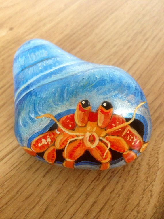 Customer+order+Hand+painted+rock+hermit+crab+by+Cobblecreatures