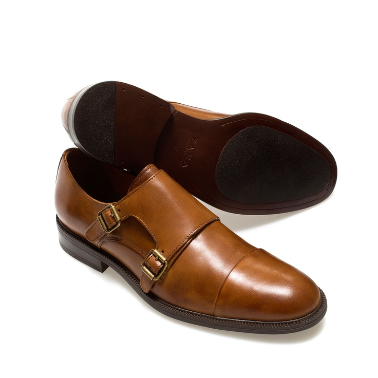 MONK SHOE - Shoes - Man - ZARA Bulgaria | Shoes | Stylish ...