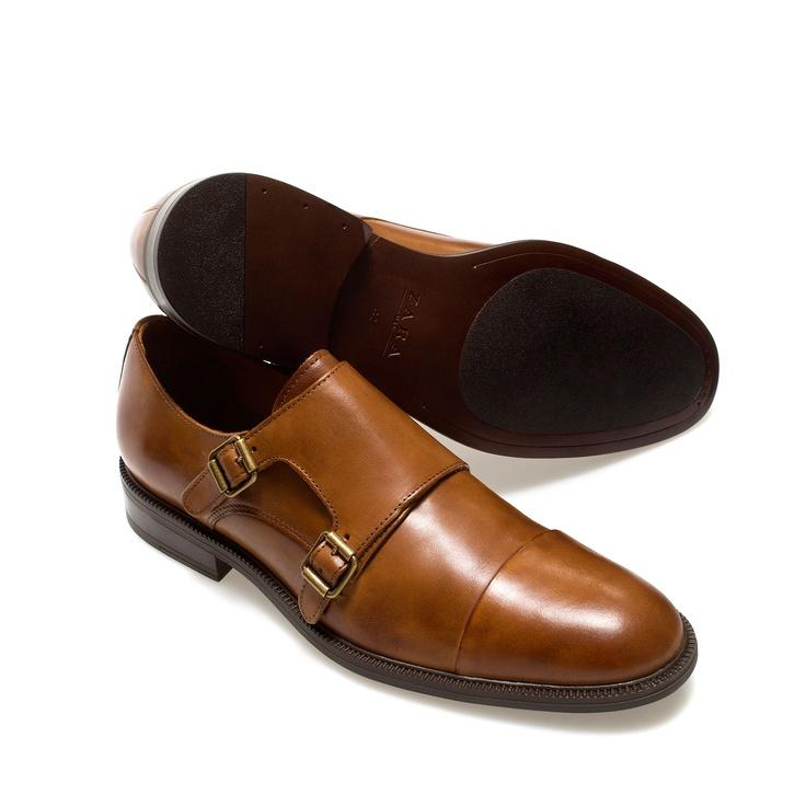 Monk Shoe Shoes Man Zara Men Monkstrap Double