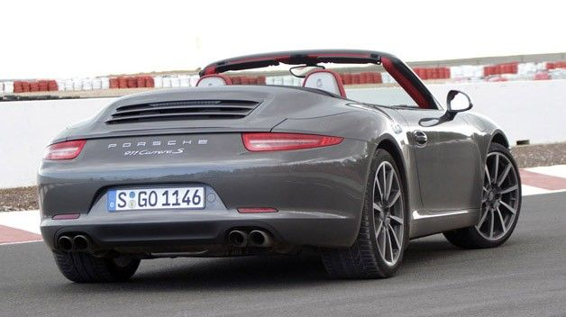 2012 Porsche 911 Carerra S Cabrio