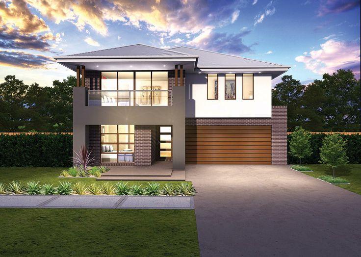 Pinnacle facades mcdonald jones homes facades for Mcdonalds exterior design