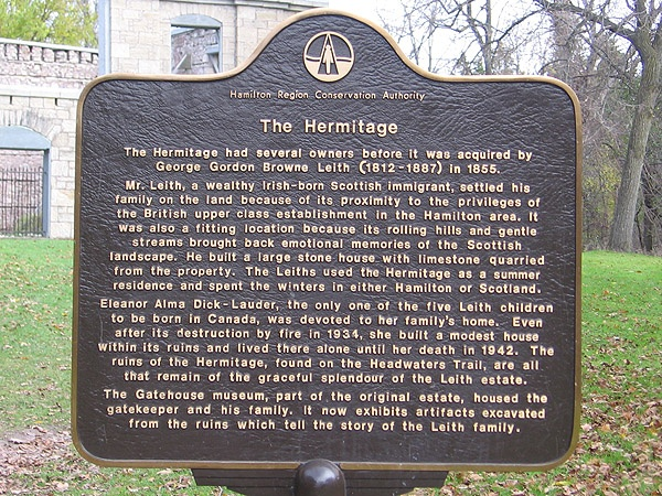 Hermitage, Ancaster ON