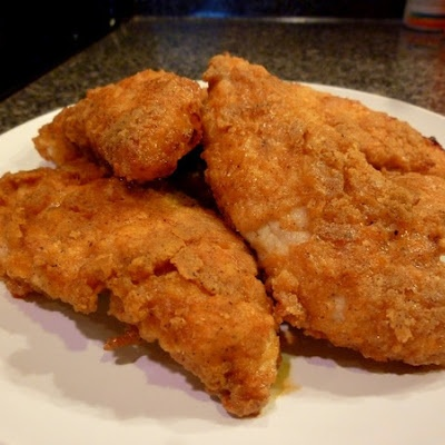 KFC Chicken ...baked, not fried. This has become our family favorite! It's great when it's cold as well.
