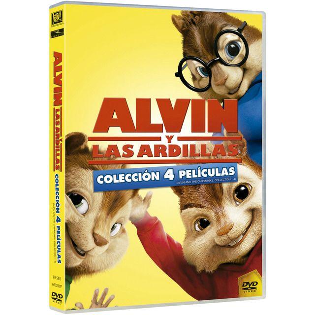 Fox Pack Alvin Y Las Ardillas 1 2 3 4 Dvd Ardillas Dvd Nuevo Novio