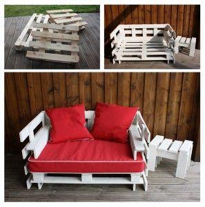 Un canapé d'extérieur en palettes ! dans Astuces et bricolage maison canape-palettes-297x300