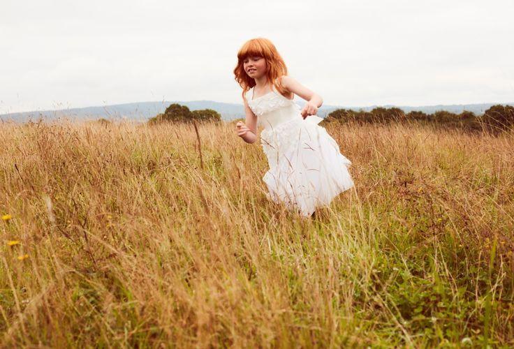 She'll delight the wedding party in Monsoon flower girl dresses