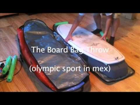 How to pack a surfboard for air travel