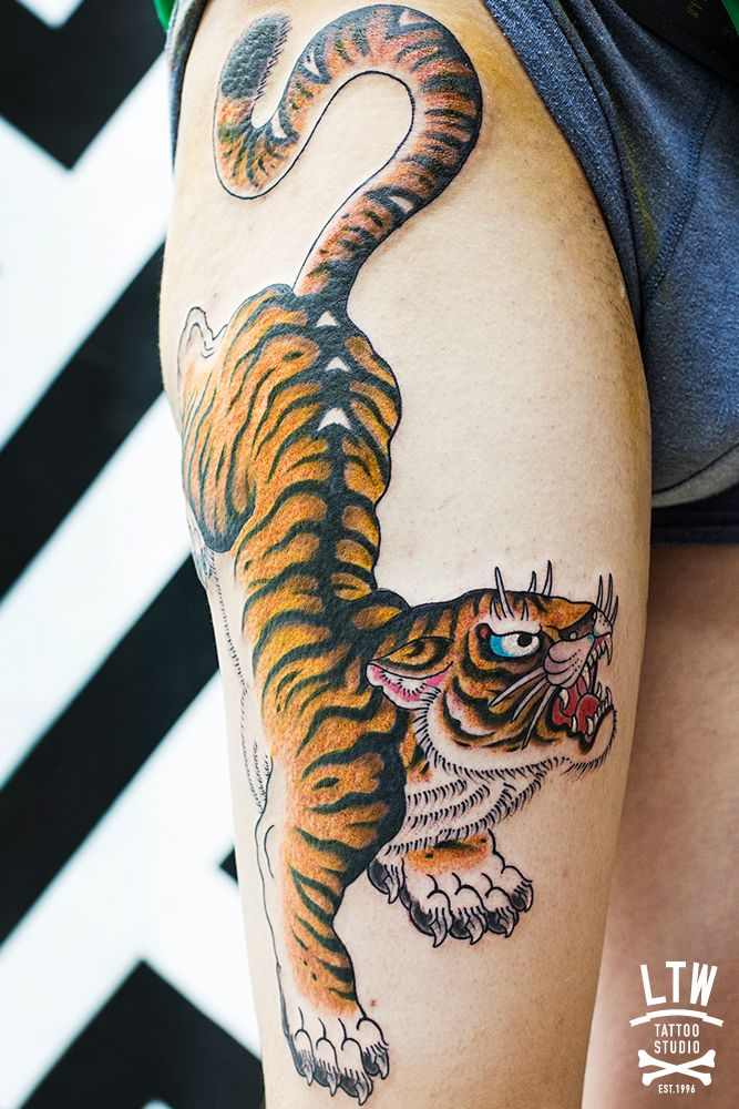 #tiger #ltw #ltwtattoo #tattoo #barcelona