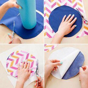 como hacer un tapete para yoga