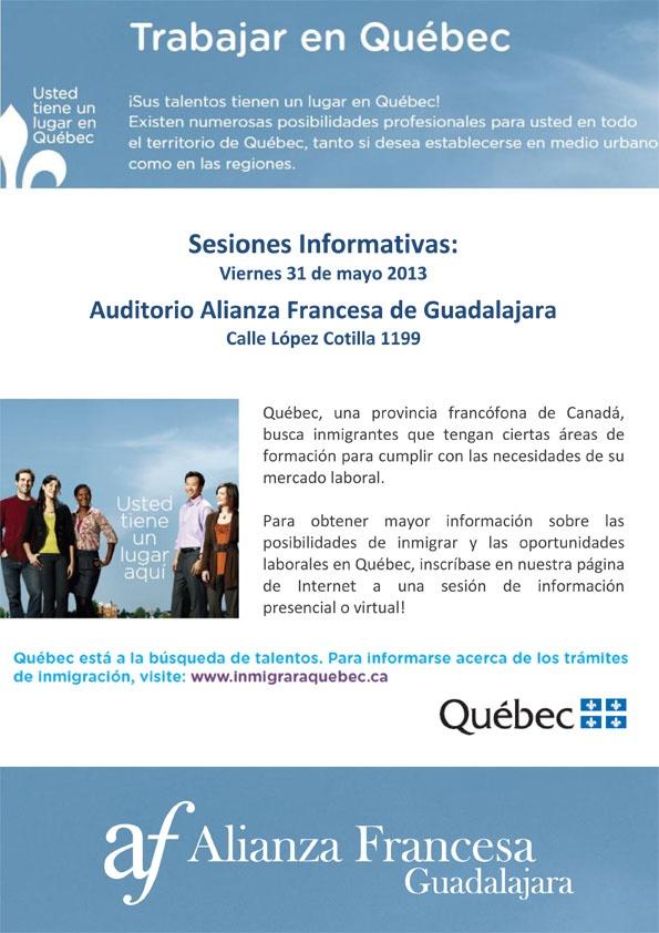 Trabajar en Quebec