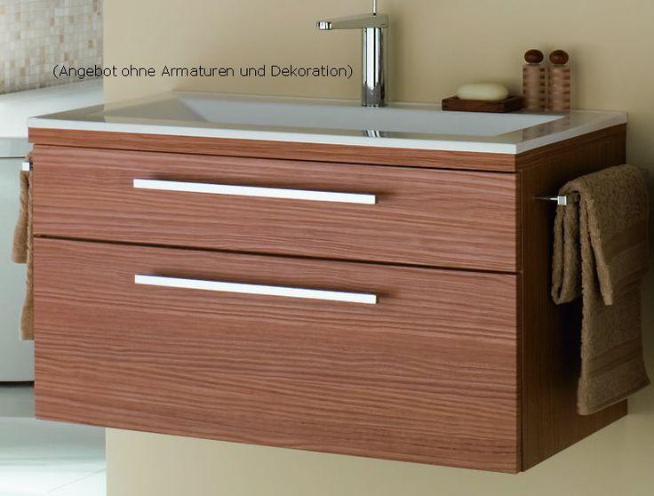Ponad 25 najlepszych pomysłów na Pintereście na temat Waschbecken - badezimmerschrank mit waschbecken