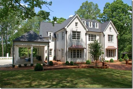Beautiful Home Buckhead Note The Open Garage So That There Can Be