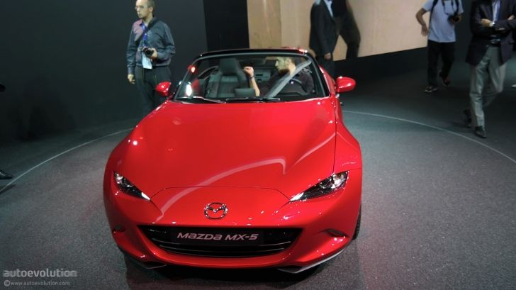 Mazda MX-5 Miata Makes European Debut at Paris 2014 http://www.autoevolution.com/news/mazda-mx-5-miata-makes-european-debut-at-paris-2014-87216.html