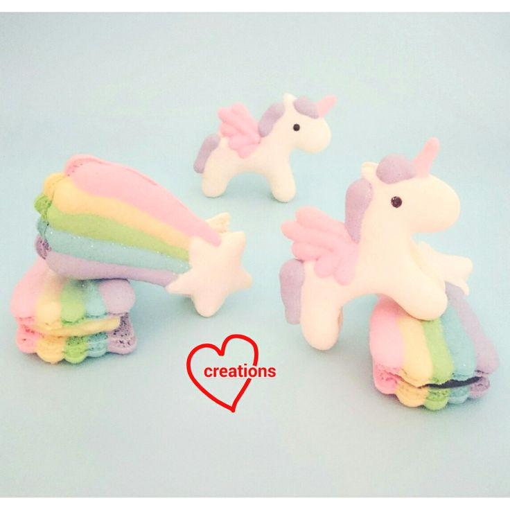 Loving Creations for You: Unicorn and Shooting Star Macarons (templates included)