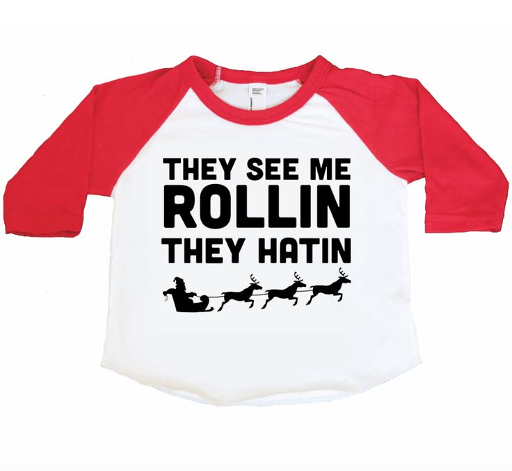 They See Me Rolling Christmas Kids Tee