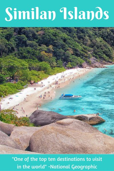 5 reasons why you shouldn't skip the Similan Islands - by http://wonderluhst.net