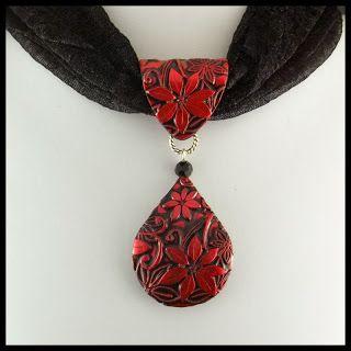2 Good Claymates: More Scarf Jewelry                                                                                                                                                                                 Más