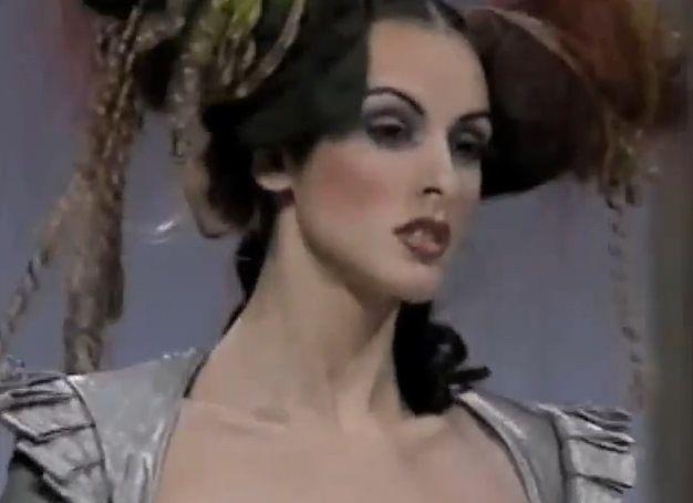 John Galliano collection at Paris Fashion Week in 1994