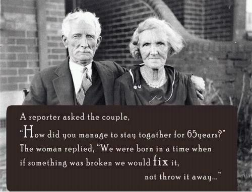 Profound idea!: The Women, Words Of Wisdom, Remember This, True Love, True Words, Old Couple, Marriage Advice, Wise Words, The Secret