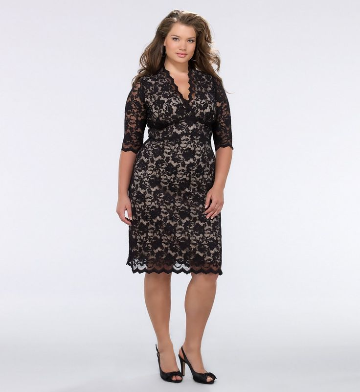 This dress is a full figured girl's dream. I want this dress so badly!!!!!!!