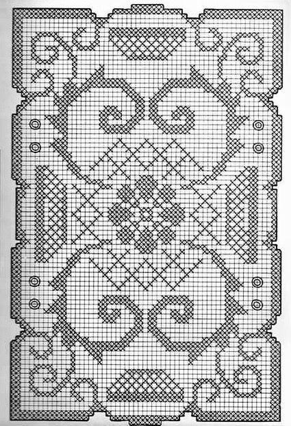 Kira scheme crochet: Scheme crochet no. 3076