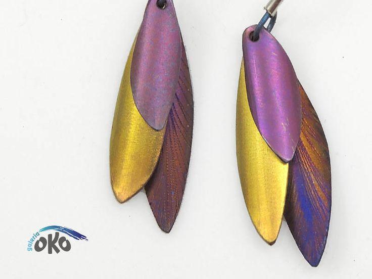 Ohrringe aus Titan von Galeria OKO auf DaWanda.com