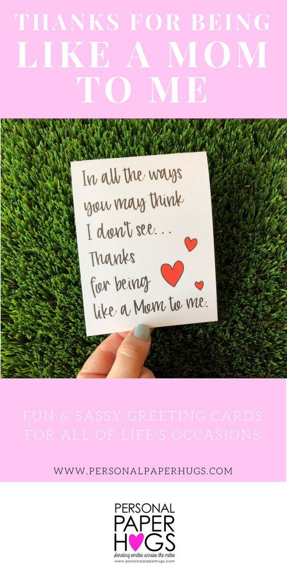 sentimental card for stepmom card bonus mom card mother s mom to