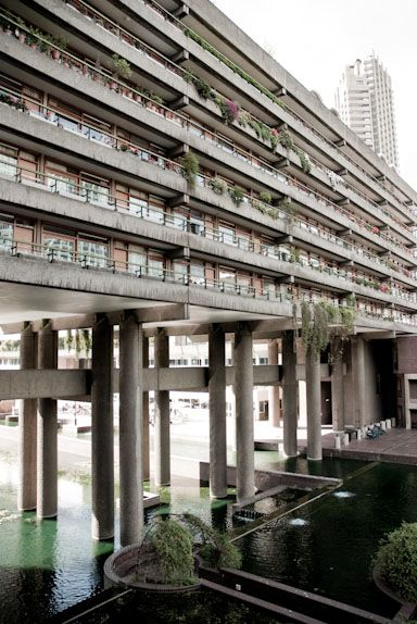 Barbican, London- An architectural and urban planning marvel. I'm enthralled by its history, its cultural impact and its ability to remain relevant over the years. Truly ahead of its time.