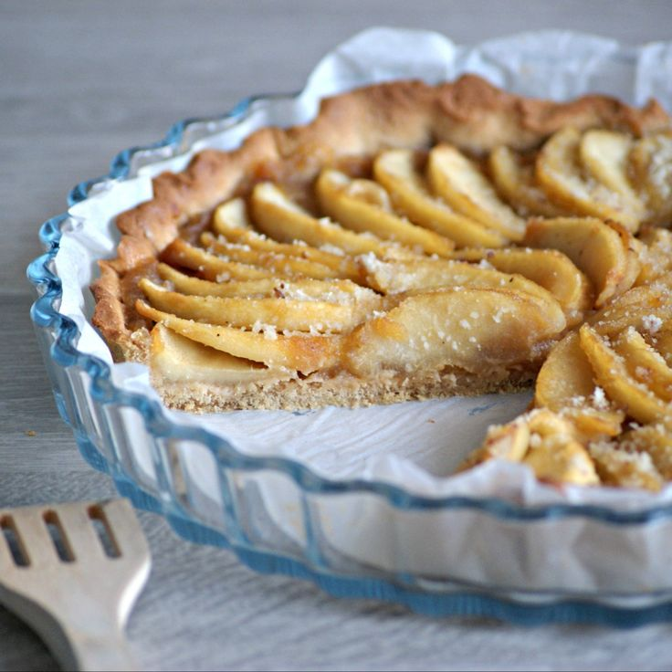 Recette sans gluten et sans lactose Normande d'origine, la tarte aux pommes est, pour moi, un inconditionnel de la cuisine ! Cependant, je n'en avais pas encore testé sans gluten, c'est chose faîte...
