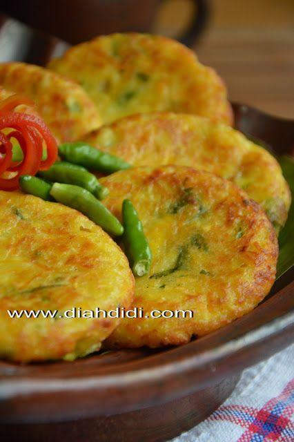 Diah Didi's Kitchen: Perkedel Jagung Irit Minyak..