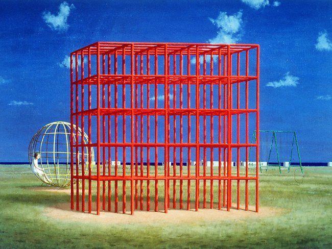 Jeffrey Smart Playground Mondragone