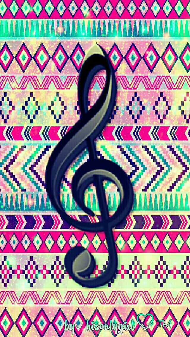 Vintage tribal music galaxy wallpaper I created for the app CocoPPa.