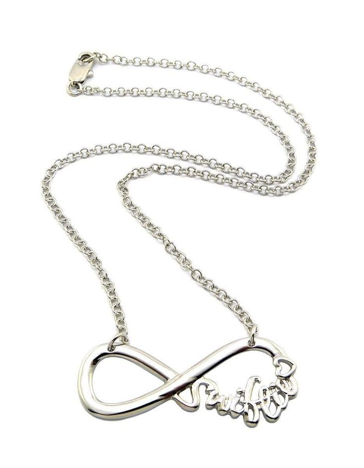 "Amazon.com: New Celebrity Fans 'SWIFTIE' Pendant 3mm &18"" Link Chain Fashion Necklace XC424R: Taylor Swift Merchandise: Jewelry"
