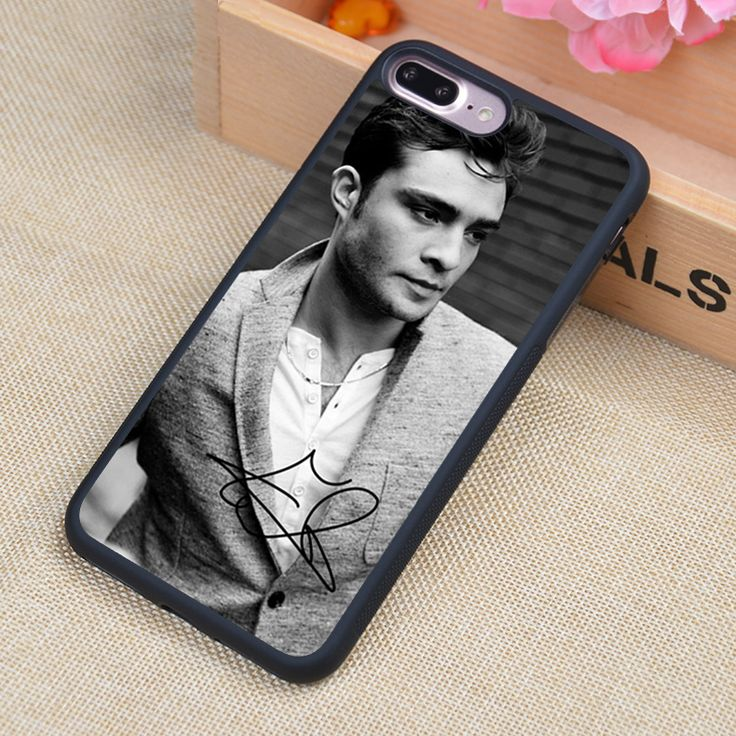 Chuck Bass gossip girl Printed Phone Case Skin Shell For iPhone 6 6S Plus 7 7Plus 5 5S 5C SE 4 4S Rubber Soft Cell Housing Cover