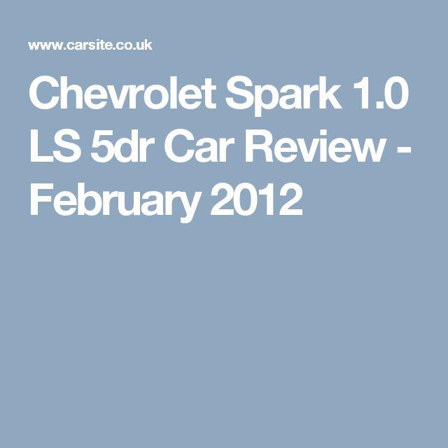 Chevrolet Spark 1.0 LS 5dr Car Review - February 2012
