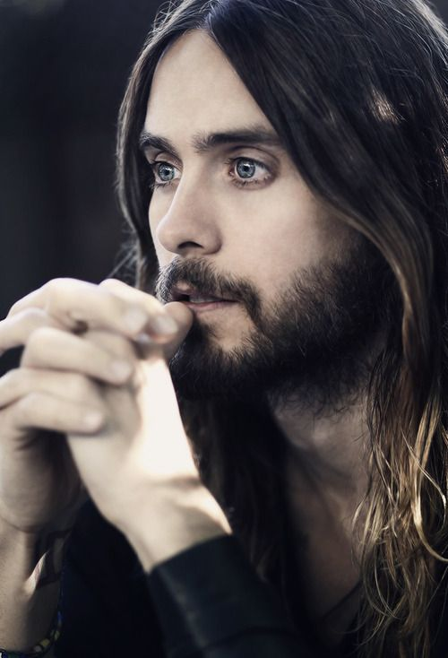 Jared Leto-I really like this picture. There is something captivating and serene about it.