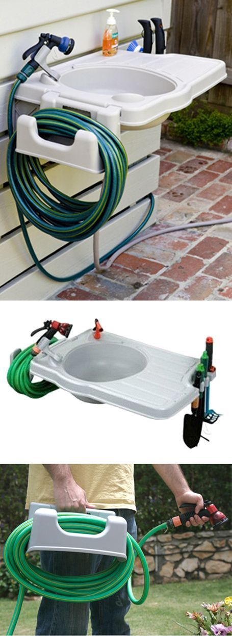 Outdoor Sink with Detachable House