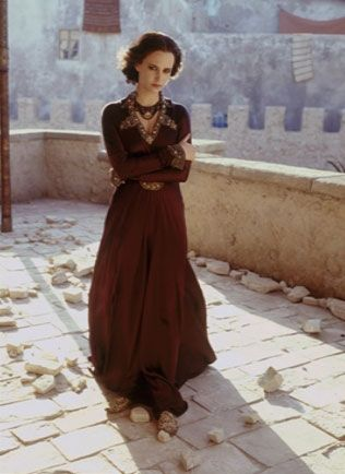 Eva Green-Adelaida: coven leader's wife and second-in-command, half Norman/ half Middle Eastern