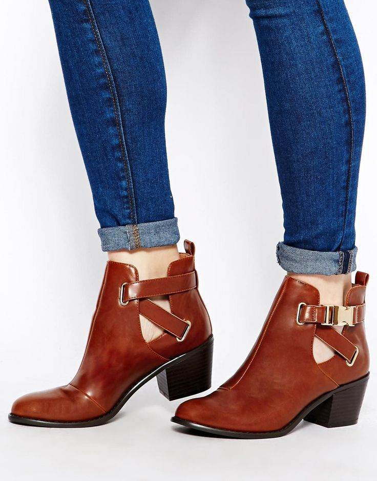 ASOS RED LIGHT Ankle Boots everithing it's cool with boots