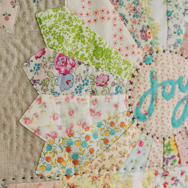 love this hand quilting