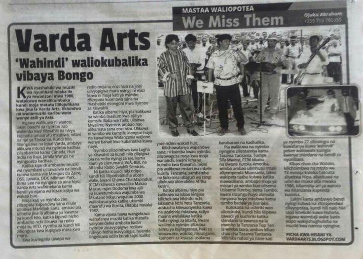 Article on Varda Arts