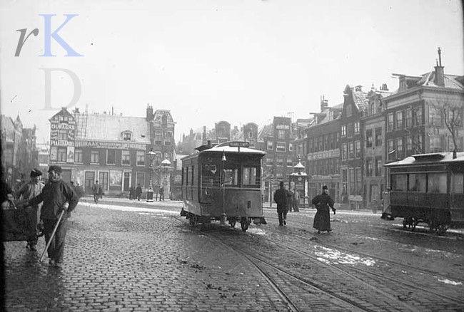View of Leidseplein, Amsterdam. George Hendrik Breitner 1889-1900