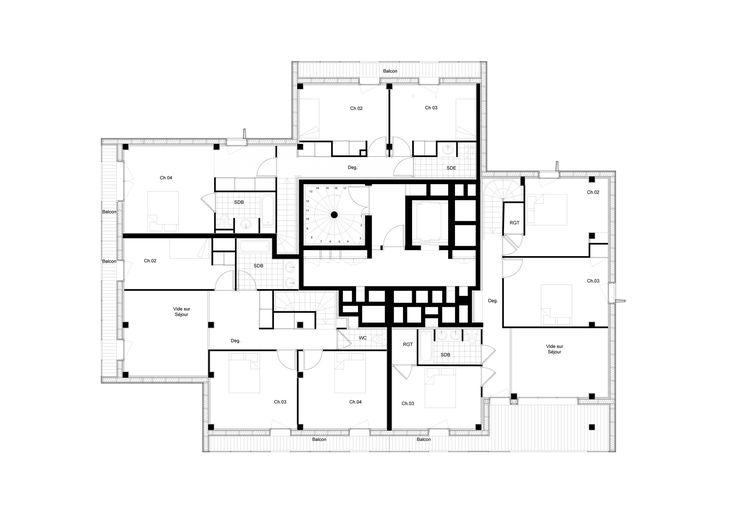 Gallery - Housing and Shops Complex / Ameller, Dubois & Associés - 12